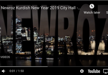 Newroz Kurdish New Year 2019 City Hall – Highlights