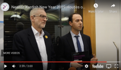 Newroz Kurdish New Year 2019 Houses of Parliament – Highlights