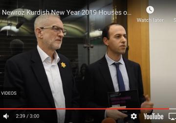 Newroz Kurdish New Year 2019 Houses of Parliament – Highlights