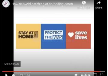 How to avoid catching or spreading coronavirus?
