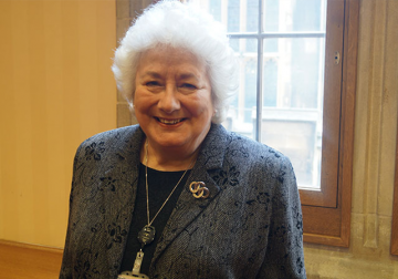 Baroness Angela Harris'  Message of Support for Centre for Kurdish Progress