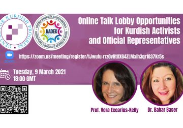 Lobby Opportunities for Kurdish Activists and Official Representatives