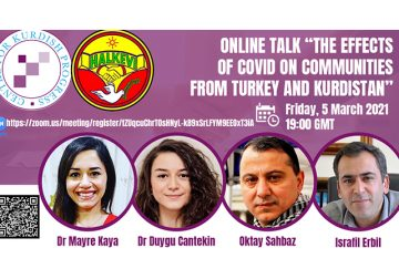 """Online Talk """"The Effect of COVID on Communities from Turkey and Kurdistan"""""""