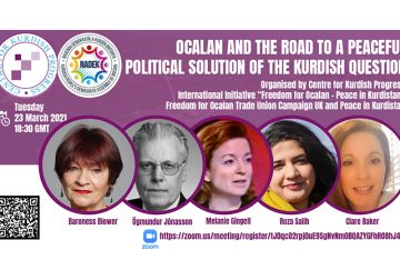 "ONLINE TALK ""OCALAN AND THE ROAD TO A PEACEFUL POLITICAL SOLUTION OF THE KURDISH QUESTION"""