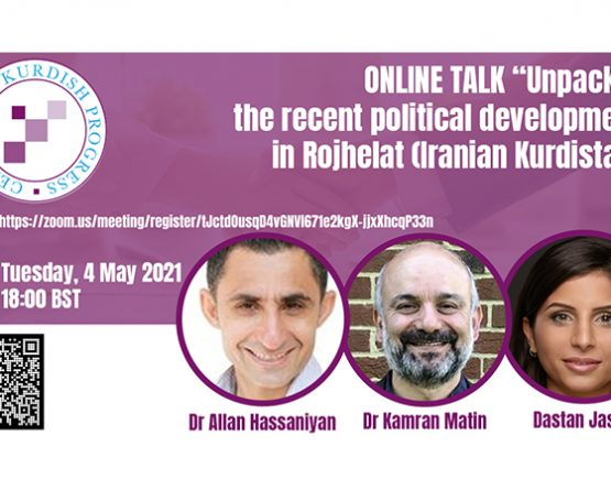 Online meeting: 'Unpacking the recent political developments in Rojhelat (Iranian Kurdistan)'
