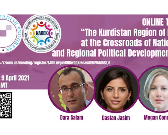 "Online Talk: ""The Kurdistan Region of Iraq at the Crossroads of National and Regional Political Developments"""